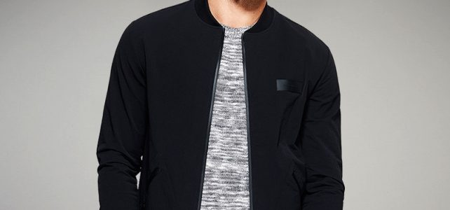 KUEGOU New Spring Mens Casual Jackets And Coats Thin Black Color Brand Clothing For Man's Slim Fit Clothes Male Wear Tops 2067 Review