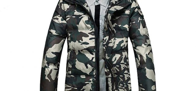 New Arrivals male fashionable casual thickening down coat Camouflage down Jacket Long Winter parka coat for men Big size 4XL Review