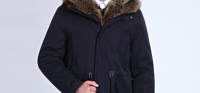City Class Winter Fur Jacket Men Removable Raccoon Hood Long Parka Mens Casual Jackets and Coats Cotton Fabric Camel Wool 17843 Review
