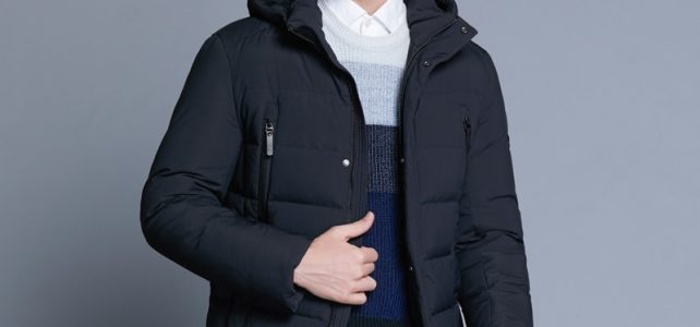 ICEbear 2018 new winter men's jacket with high quality fabric detachable hat for male's warm coat simple mens coat MWD18945D Review