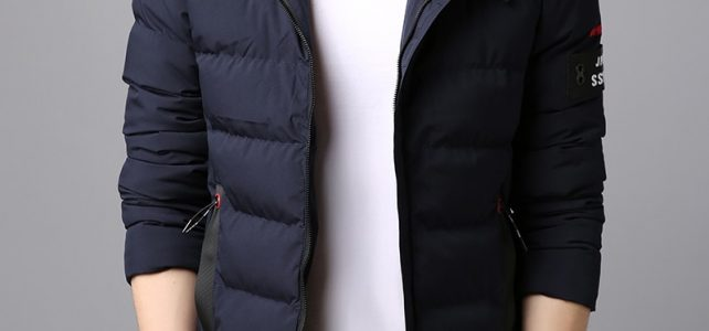 2018 Thick Winter Fashion Brand Jacket Men Quilted Streetwear Parkas Hooded Korean Bubble Puffer Coat Slim Fit Men Clothes Review