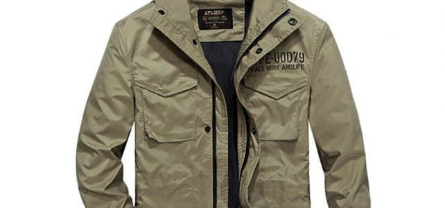 AFS JEEP Brand Jacket Men Hooded Casual Man Jacket Coat Army Military Windbreaker Solid Loose Style Size M-4XL Chaqueta Hombre Review