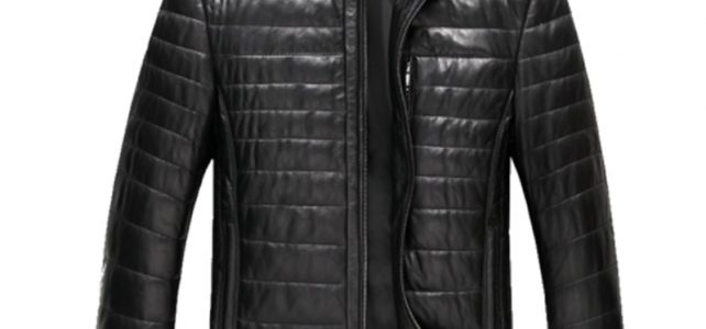 AYUNSUE Genuine Leather Jacket Men Winter Duck Down Coat Black Coats Plus Size 6XL Men's winter jackets LX2162 Review
