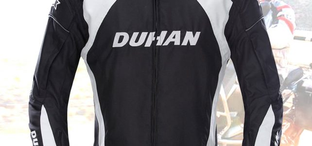 DUHAN Motorcycle Jacket Men Windproof Riding Off-Road Racing Sports Jackets Moto Equipment Clothing With Five Protector Guards Review