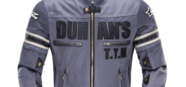 DUHAN Summer Men's Motorcycle Jacket Motocross Off-Road Jacket Motor Racing Jacket Breathable Mesh Moto Jacket Protective Gear Review