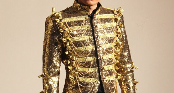 Gold Sequins Tassel Jacket Male Singers Jacket Mens Fashion DJ Ds Bar Nightclub Costume Outerwear Blazer Light Outfit Review