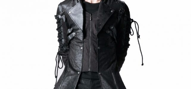 Gothic Retro Style Faux Leather Long Coats for Men Steampunk Military Uniform Autumn Winter Punk Jacket Fashion Casual Overcoats Review