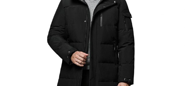 Holyrising 5XL Men Long down jacket winter Outerwear Warm Hooded Men White Duck Down Coats Hooded Thermal Windproof Coat 18564-5 Review