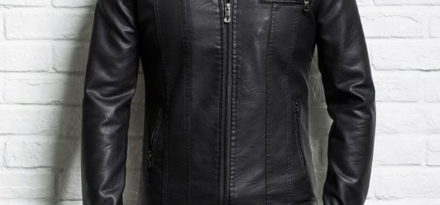 Men genuine leather jacket sheepskin 2018 new spring and autumn handsome slim zipper male motorcycle leather jacket teenager boy Review
