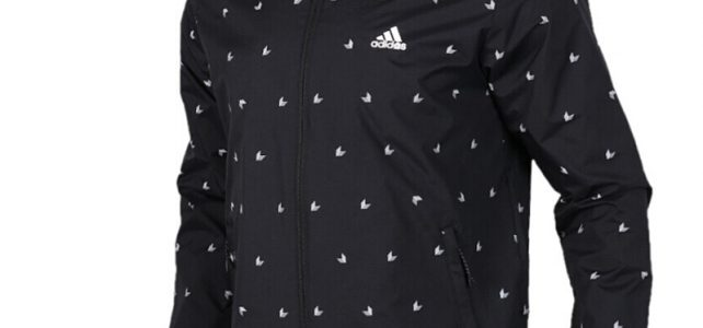 Original New Arrival 2018 Adidas WB AOP CUBE Men's jacket Hooded Sportswear Review