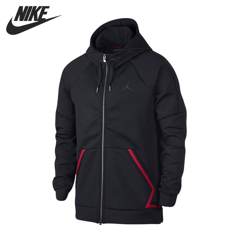 Original New Arrival 2018 NIKE FLIGHT TECH DIAMOND FZ Men's Jacket Hooded Sportswear