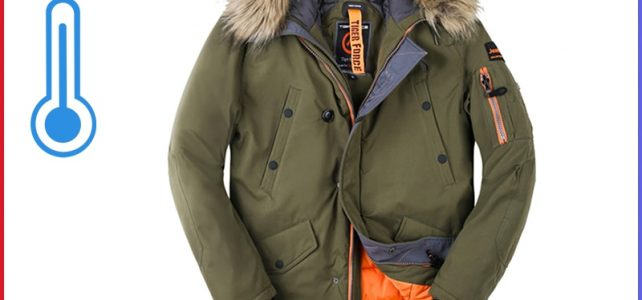 TIGER FORCE Men Padded Parka Artificial Fur Hooded Winter Coat Men Fashion Casual Coat Thick Parkas Water Repellent Jacket Review