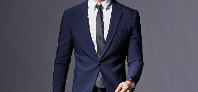 Top Fashion Formal Business Blazer Men Groom Three Pieces Brand Mens Suit Jacket Slim Fit Clothing Single Button Wedding Dress Review