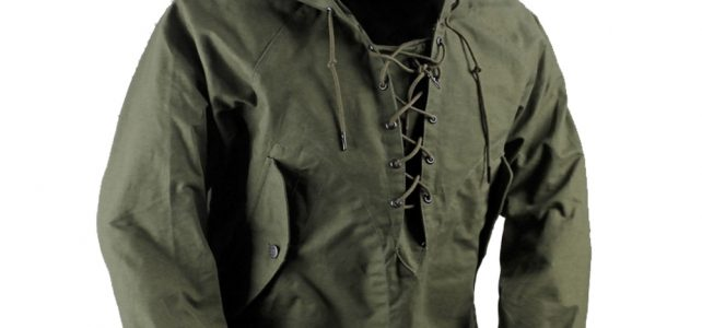 USN Wet Weather Parka Vintage Deck Jacket Pullover Lace Up WW2 Uniform Mens Navy Military Hooded Jacket Outwear Army Green Review